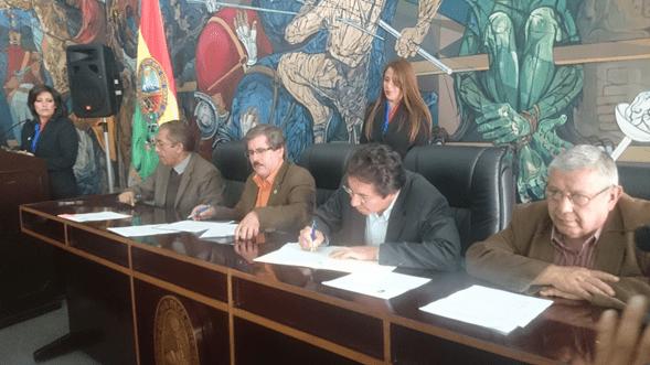 ABE y UMSA firman convenio