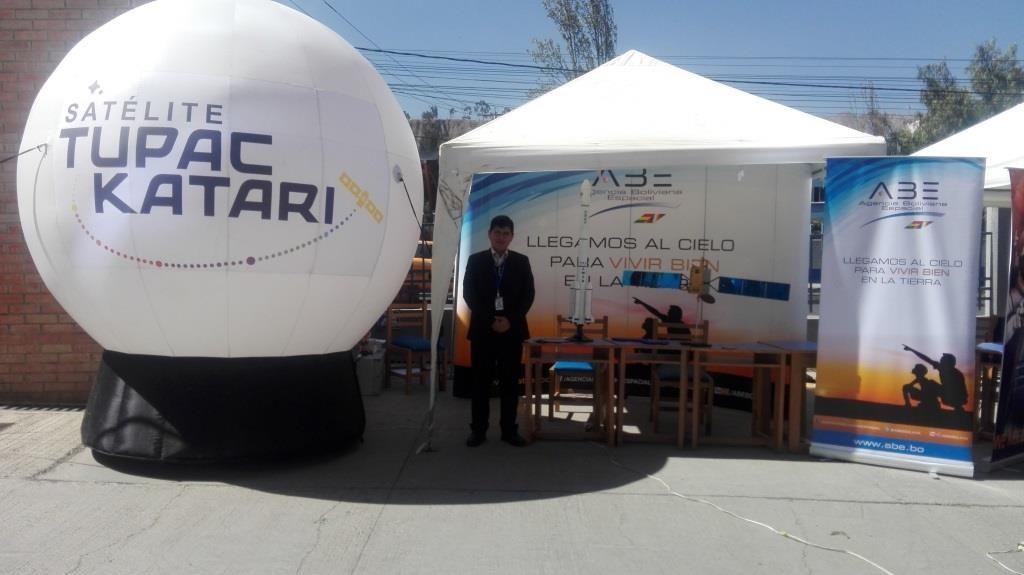 ABE en la Aerospace Bolician Conference
