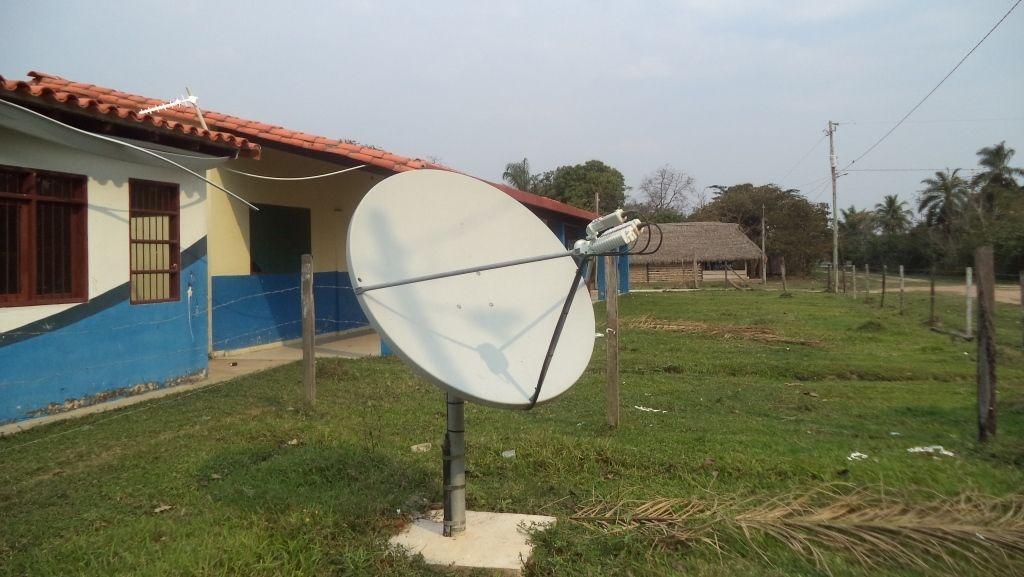 Internet rural por satélite