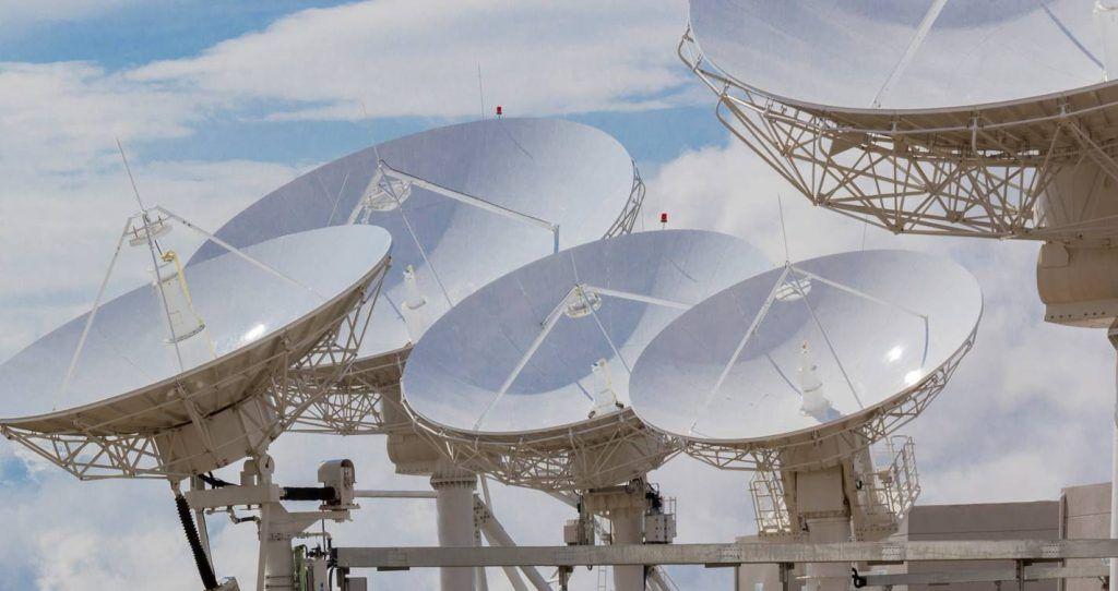Antenas estación terrena Amachuma