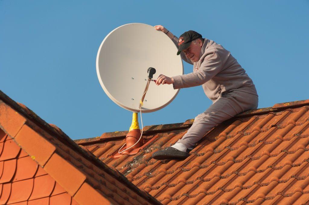 Instalación televisión satelital