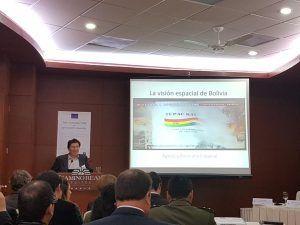 Seminario internacional sobre la implementación de aplicaciones espaciales