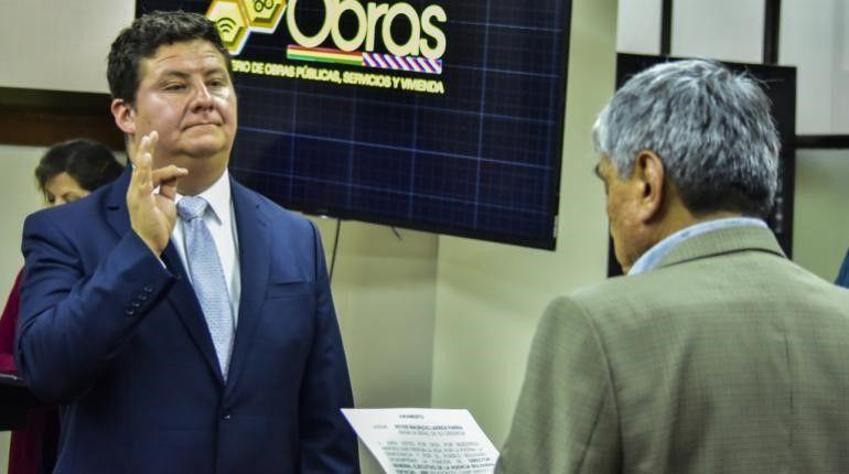 NUEVO DIRECTOR GENERAL EJECUTIVO DE LA AGENCIA BOLIVIANA ESPACIAL