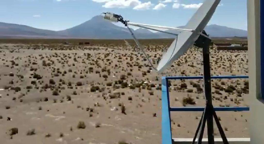 Internet Satelital de Banda Ancha y Televisión Digital Satelital en Pisiga